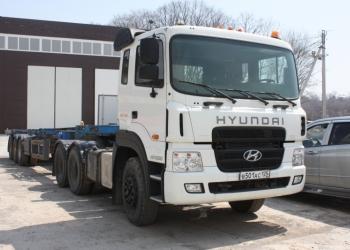 Седельный тягач Hyundai HD1000, 2012 г