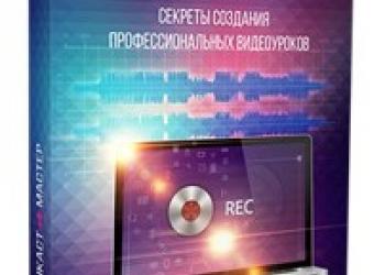 Секреты создания профессиональных видеоуроков