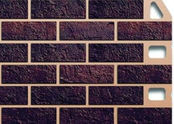 Сайдинг (панель) Альта-профиль, кирпич,жженый