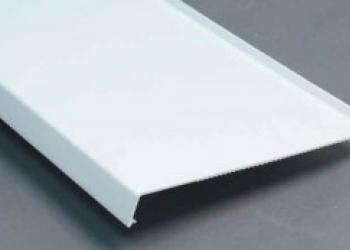 Отливы металлические 9003 (белые), 50 * 1000 мм