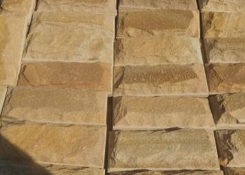 Плитка со сколом из камня песчаника
