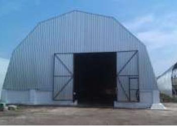 Ангар 18*40м стальной готовый стоянка