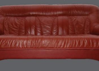 Кожаный диван-кровать SPENSER