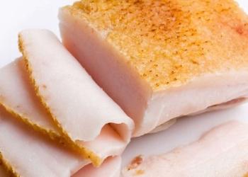 Сало свиное свежее