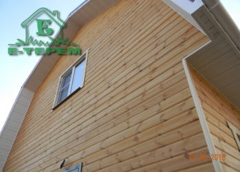 Строим дома и бани из бруса на винтовых сваях.