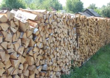 Дрова колотые, любая древесина. куб складной