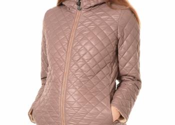 Зимнее стеганное пальто