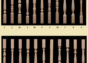 Мебельный щит из сосны, элементы лестниц.
