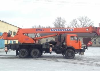 """Автокран """"Клинцы"""" КС-55713-1К-3 (2012 г.в.)"""