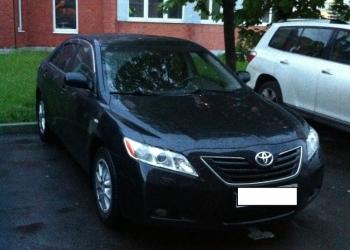Аренда автомобиля с водителем, Toyota Camry.