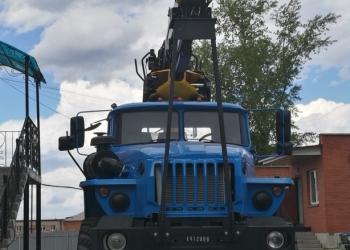 Лесовоз сортиментовоз Урал с ГМ