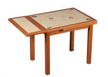 Кухонный обеденнй раскладной стол с плиткой бу
