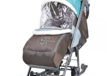 Санки-коляска для самых маленьких новые+доставка