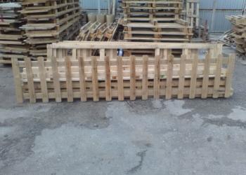 Декоративные деревянные заборчики