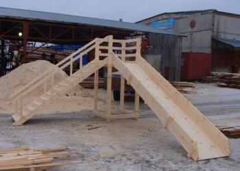 Строим деревянные горки