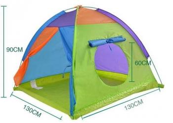 Детская игровая палатка с освещением.