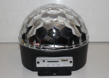 Диско-шар мр3 плеер со встроенными колонками