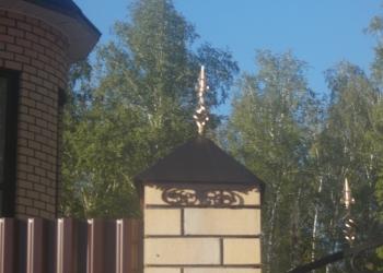 Колпаки и зонты на кирпичные столбы