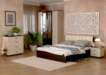 кровать 160х200 с ортопед.основанием и кож.извгов