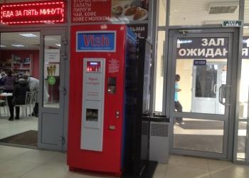 Вендинговый аппарат для продажи газированных напитков