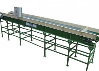 транспортер ленточный горизонтальный КГ-10 для овощей, картофеля, моркови, лука