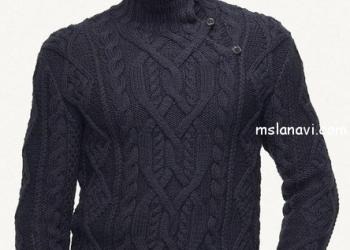 Вязаные мужские свитеры