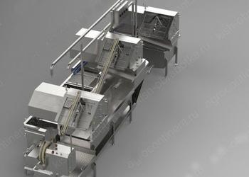 Комбинированная машина для обработки черевы КРС, МРС или свиней ООК-MCU
