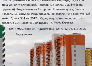Экологически чистый район центра европейской России. Новая квартира.
