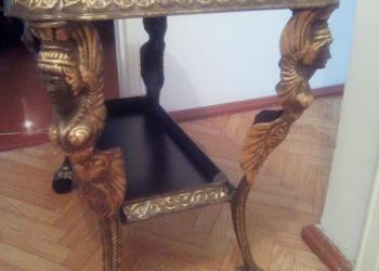 Журнальный столик сделанный на заказ из бронзы старинный