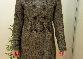 Пальто шерстяное. Cubus. 46 размер. Демисезон..