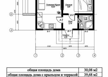 Гостевой СИП дом 30м кв за 7 дней от заключения договора до ввода в эксплуатацию
