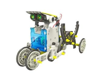 Робот конструктор на солнечной батарейки