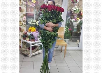 Розы-гиганты. Высокие розы от 100 до 200см
