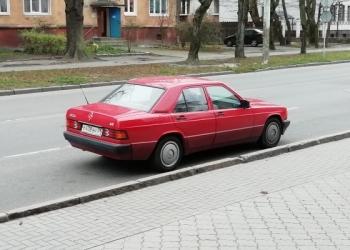 Mercedes 190 (W201), 1992
