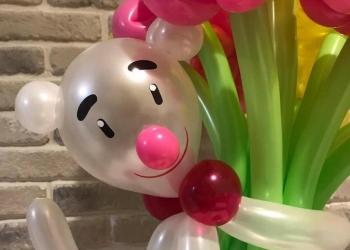 Букеты и игрушки из воздушных шариков