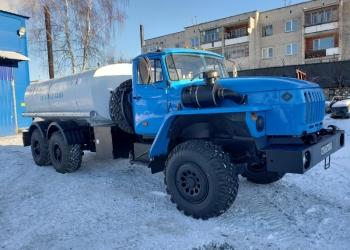 Урал 4320 Автоцистерна Питьевая вода АЦПТ