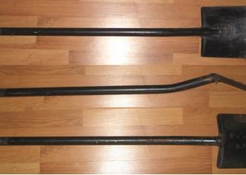 Лопата со стальным черенком