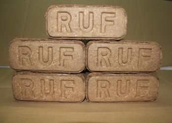 Топливные брикеты RUF (Древесные Евродрова)