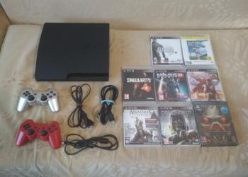 PlayStation 3 500GB + 13 игр!
