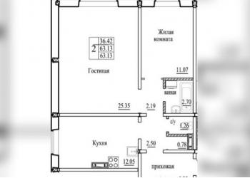 Продам квартиру на Бронной 34/1