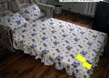 пошив нестандартного постельного белья и простыней на резинке