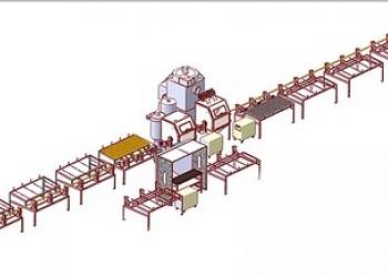 Линия электродуговой металлизации (под ключ)