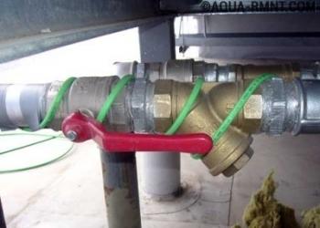Система антиобледенения труб