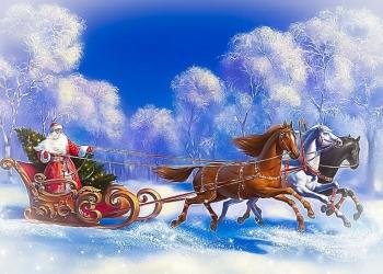 Именное видеопоздравление с Новым годом от Дедушки Мороза