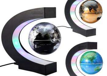 Глобус левитационный (парящий) с подсветкой