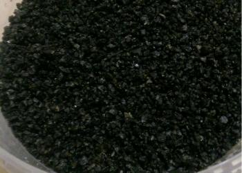 Грунт чёрный,натуральный для аквариума