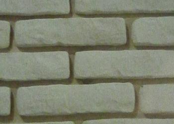 Искусственный камень « Бавария» белый