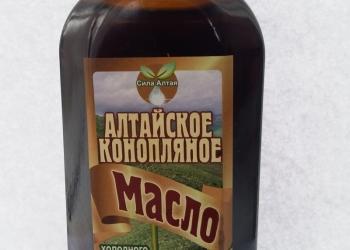Алтайское конопляное масло - Целительная сила