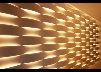 3Д панели с LED подсветкой