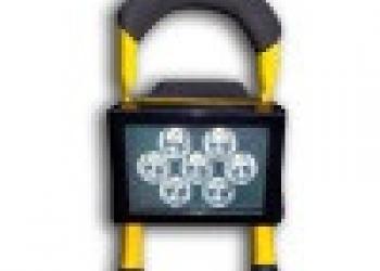 Сверхмощный переносной прожектор+стробоскоп